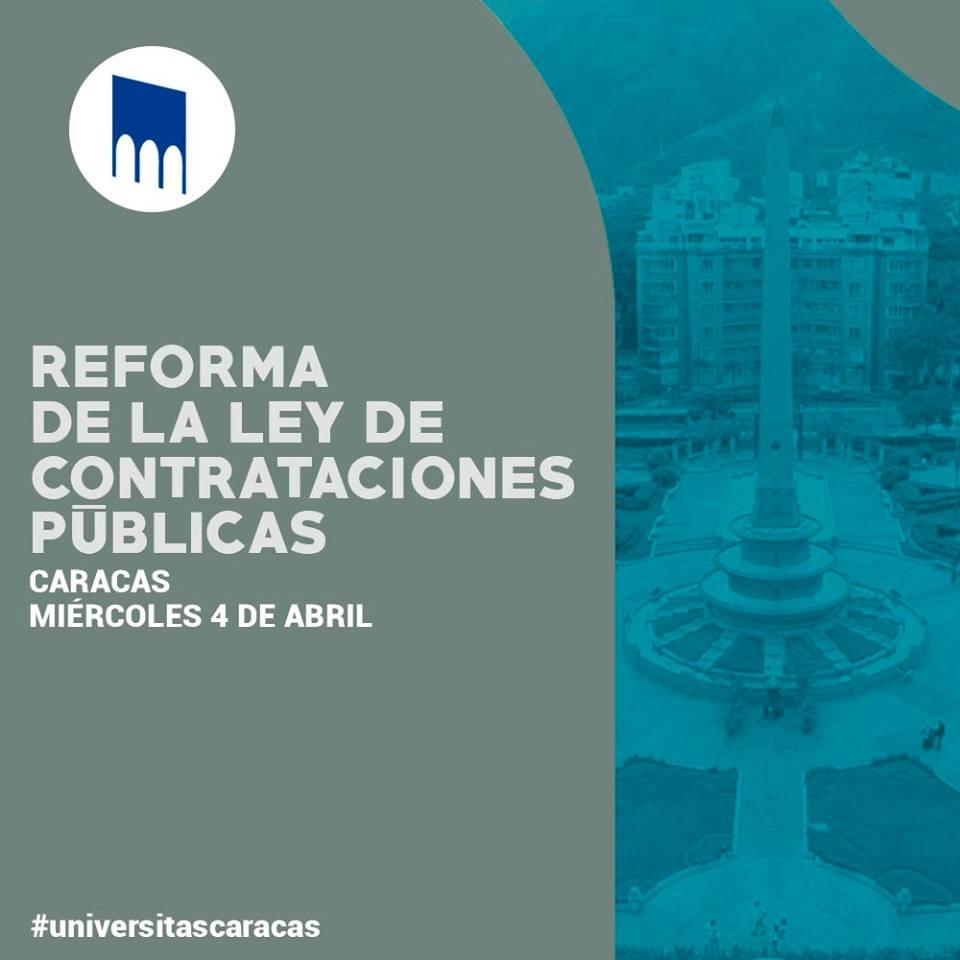 Reforma en materia de Contrataciones Públicas